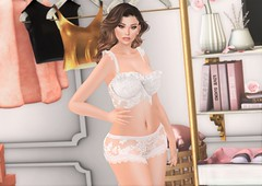 Pantie Raid! (EnviouSLAY) Tags: white lace lingerie cosmicdust cosmic dust doux letre newreleases new releases top panties closet pink gold foxwood belleza bento freya genus classic makeup eyeshadow eyeliner lipstick gloss naked nude uber kustom9 k9 kustom 9 anthem decor monthlyevent monthlyfashion monthlyfair monthly fashion fair event pale female male gay lgbt blogger secondlife second life photography closetscene scene secondlifephotography secondlifefashion
