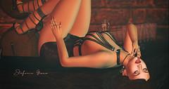 Remedy (Stefania Giano) Tags: noir glamaffair lelutka ricielli euphoric ascendant romp uber tableauvivant vobe