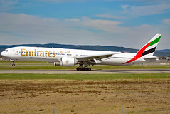 A6-ENE (Skidmarks_1) Tags: a6ene boeing777 emirates engm norway osl oslogardermoenairport aviation aircraft airport airliners