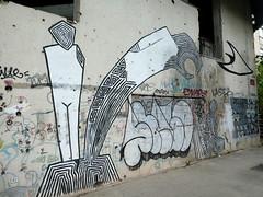 Street art on the abandoned 'Sniper Building' in Mostar (chibeba) Tags: mostar bosnia bosniaandherzegovina europe vacation holiday spring 2019 may city historic heritage tourism citybreak visitors building derelict abandoned sniperbuilding formerbank graffiti artists graffitiart art streetart