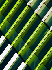 force field (♫ marc_l'esperance) Tags: teletakumar300mmf63 vintagelens manualphotography vancouver bc marclesperancephoto 2019 cml luxmaticcom building geometry patterns repetition green white lines angles geometric abstraction architectural design abstract minimal minimalist minimalism