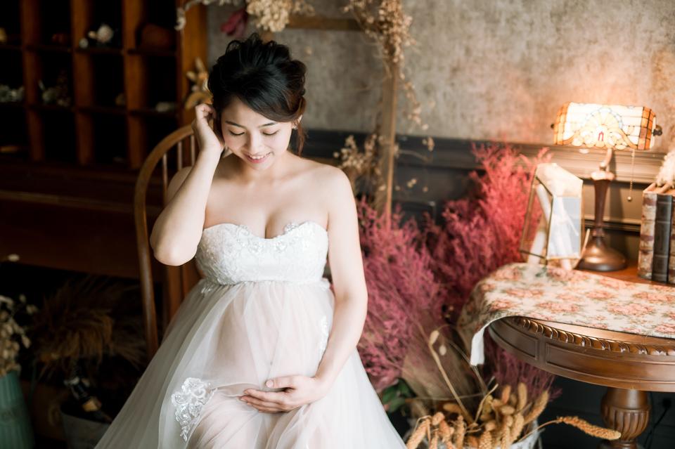 台南孕婦寫真 甜美孕媽咪小芳 015