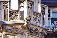 07 - Munich Mai 2019 - Marienplatz, l'Hôtel de Ville, Gargouilles (paspog) Tags: munich münchen allemagne deutschland germany 2019 marienplatz hôteldeville