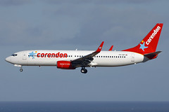 PH-CDF Dutch Corendon 737-804. Las Palmas 25/09/2016 (Tu154Dave) Tags: phcdf dutch corendon boeing 737 737800 737804 lpa las palmas canaries airport aircraft