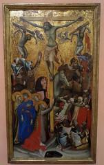 "'La Crucifixion"", c. 1335, Vitale da Bologna (Bologne vers 1300-Bologne, 1360), Musée Thyssen-Bornemisza, paseo del Prado, Madrid, Castille, Espagne. (byb64) Tags: madrid мадрид испания кастилия castille vieillecastille castilla castillalavieja eu europe europa европа espagne espana espanha spain spagna spanien ue museothyssenbornemisza muséethyssenbornemisza thyssen thyssenbornemisza musée museum museo музей музейтиссенаборнемисы gothique gotico gothic artgothique xive 14th trecento moyenage medioevo middleages edadmedia crucifixion vitaledabologna"