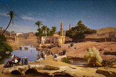 Jean-Leon Gerome - View of Medinet El-Fayoum, 1870 at National Art Gallery Washington DC (Sabri KARADOĞAN) Tags: washington districtofcolumbia unitedstates jeanleon gerome view medinet elfayoum 1870 national art gallery dc fine arts museum museo musee musea french beauxarts smithsonian painting landscape nga museumuseum musée muzeum museu müze m