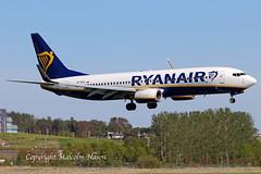 B737-8AS SP-RSX RYANAIR SUN (shanairpic) Tags: jetairliner passengerjet b737 boeing737 shannon ryanairsun sprsx