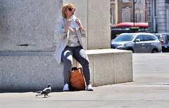 Pigeon Post (jaykay72.) Tags: london uk street candid streetphotography trafalgarsquare stphotographia