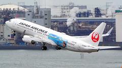 Boeing 737-846, JA346J, Japan Airlines (tkosada.mac) Tags: japanairlines oneworld tokyointernationalairport hanedaairport boeing b738 hnd rjtt