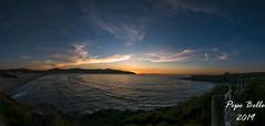 Solpor Sta Comba (pepe_bello) Tags: panorama solpor ocaso atardecer sunset santacomba praiadesantacomba ploayadesantacomba cobas ferrol ferrolterra galicia caboprior