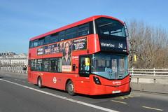LK66 GFX (HV265) Arriva London (hotspur_star) Tags: londontransport londonbuses londonbus londonbuses2019 wrightbus volvoeclipsegemini tfl transportforlondon hybridbus hybridtechnology busscene2019 doubledeck arrivalondon gfx lk66gfx 341
