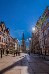 Morning in Gdansk (Vagelis Pikoulas) Tags: gdansk morning holidays travel europe city cityscape landscape urban sun sunrays sunrise sunburst view tokina 1628mm poland canon 6d april spring 2019