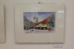 """Kaczkó Magdolna """"KÉPÜLETEK"""" című kiállításának megnyitója (VOKE Vasutas Művelődési Ház) Tags: voke vasutas művelődési ház pécs kiállítás megnyitó kép festmény esemény rendezvény program event"""