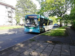 842, SN64ODU on the 10 towards City Centre (King Flick) Tags: alexander dennis enviro200 great allocations nx supposed be alx400 but e200 shows up almost half full coventry route 10 eastern green bell