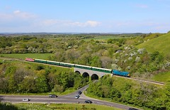 D7535 Corfe Viaduct (Robert Sherwood) Tags: d7535 crosses corfe viaduct hauling 1532 river frome swanage sunday 12th may 2019