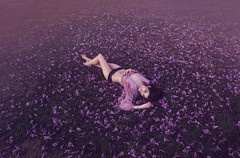 Spring Dream ({jessica drossin}) Tags: jessicadrossin woman pink purple face portrait dream wwwjessicadrossincom
