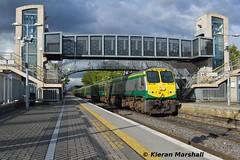 229 passes Portlaoise, 9/5/19 (hurricanemk1c) Tags: railways railway train trains irish rail irishrail iarnród éireann iarnródéireann portlaoise 2019 generalmotors gm emd 201 229 1800heustoncork