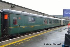 547 at Connolly, 9/5/19 (hurricanemk1c) Tags: railways railway train trains irish rail irishrail iarnród éireann iarnródéireann 2019 rpsi railwaypreservationsocietyofireland mk2 mark2 dublin connolly 547