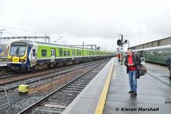 29027+29025 depart Connolly, 9/5/19 (hurricanemk1c) Tags: railways railway train trains irish rail irishrail iarnród éireann iarnródéireann 2019 class29000 caf commuter 29027 1347connollymaynooth rpsi railwaypreservationsocietyofireland mk2 mark2 dublin connolly