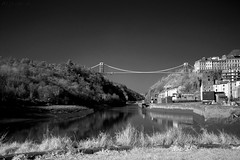 Life In Black And White (HiJinKs Media...) Tags: bristol bridge cliftonsuspensionbridge homes houses historic hotwells river reflections road riveravon reflection rocks riverbank sky trees gorge avongorge infrared longexposure landscape city citylife blackwhite blancoynegro blackandwhite biancoenero baum architecture geometry mooring smooth shadows bw dark sun seasons spring grass isambardkingdombrunel landmarks portway