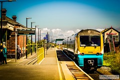 Abergele&PensarnRailStation2019.05.11-2 (Robert Mann MA Photography) Tags: abergelepensarnrailstation conwy northwales train trains railway railways station stations 2019 summer 11thmay2019 transportforwales tfwrail class175 coradia class158 supersprinter class150 sprinter