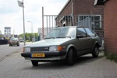Mazda 323 BD 1.3 3d 1981 (GZ-34-BT) (MilanWH) Tags: mazda 323 bd 13 hatchback 3door familia 1981 gz34bt