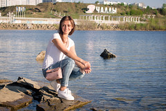 0R4A9875 (andre.pugachev) Tags: чеоны река кама лето девушка женщина солнце summer river woman girl