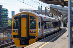 Transport for Wales 158826 (Mike McNiven) Tags: transportforwales tfw transport wales sprinter supersprinter dmu diesel multipleunit manchester manchesterairport airport piccadilly llandudno northwales mainline