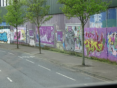 The Peace Wall in Belfast (BarbPatch) Tags: ireland northernireland belfast vacation