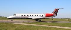 G-SAJB EMB145 Loganair NWI 150519 (kitmasterbloke) Tags: nwi norwich norfolk aviation aircraft outdoor transport