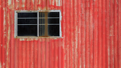a shed in the red (jtr27) Tags: dscf5653xl jtr27 fuji fujifilm fujinon xt20 xf 50mm f2 f20 rwr wr red shed maine newengland abandoned decay patina