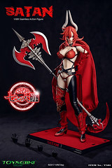 TOYSEIIKI TS01 Seven Mortal Sins-Satan - 11 (Lord Dragon 龍王爺) Tags: 16scale 12inscale onesixthscale actionfigure doll hot toys phicen tbleague toyseiiki seamless
