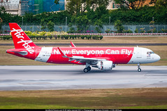 [SIN.2015] #AirAsia #AK #Airbus #A320 #9M-AJA #Now.Everyone.Can.Fly #awp (CHRISTELER / AeroWorldpictures Team) Tags: airliner asian airlines airasia malaysia ak aka redcap callsign worldbestlowcost lowcost special axm 9maja aircraft airplane avion plane airbus a320 a320216 winglets wl cn5897 cfmi cfm56 bbam lease spotting singapore changi sin wsss fwwbj spotter christeler aeroworldpictures awp team avgeek aviation picture photo nikon d300s nef raw nikkor 70300vr lightroom