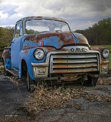 Dr Pepper's Truck    ...HTT! (jackalope22) Tags: htt chevy blue truck dr pepper grass
