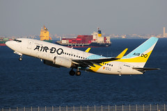 Air Do Boeing 737-781 JA08AN (Mark Harris photography) Tags: spotting hnd plane aviation canon