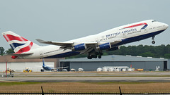 The Queen - G-BYGA (Rather Be Traveling) Tags: britishairways boeing 747 747400 gbyga