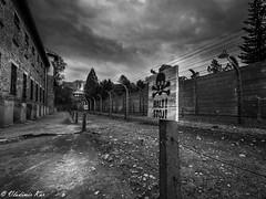Halt ! (vladimir78F) Tags: poland holocaust auschwitz exterminationcamp monochrome concentrationcamps blackwhite
