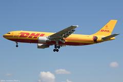 D-AEAR (Baz Aviation Photo's) Tags: daear airbus a300b4622rf dhl european air transport dhk do bcs qy heathrow egll lhr 27l bryan adams shine a light tour qy6757 hank you