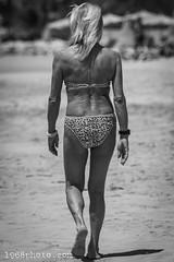 Walking (1968photo) Tags: fuerteventura spain spanien canaryislands travel travelphotography woman female girl bikini beach beachlife 1968photo anonymous walk walking sand rear back