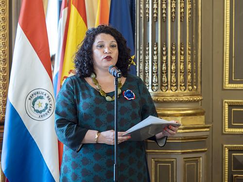 Liz Haydee Coronel Correa, Ministra de la Embajada de la República del Paraguay en España