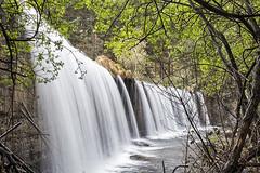 Tiempo de exposición lento (lebeauserge.es) Tags: rascafría madrid españa naturaleza árbol río agua catarata cascada