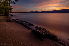 Plage du lac de Neuchâtel (switzerland) (christian.rey) Tags: poselongue longexposure plage beach lacdeneuchâtel lac neuchâtel lake neuenburgersee see swiss cheyres broye fribourg sunset coucher soleil sony alpha a7r2 a7rii 1635 nd1000 filtre