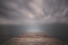 Unreal world (Alfredo.Ruiz) Tags: canon 5d 1635 pasarela garaio alava nubes pamtano