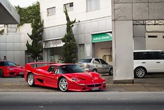 P2/3 (Andre.Silot) Tags: ferrari f50 f 50 rosso corsa scuderia red vermelha vermelho 360 modena street rua são paulo sp brasil brazil bra br nikon d3200 d 3200 2018 exotic car hypercar hyper exotics cars