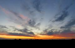IMG_0093x (gzammarchi) Tags: italia paesaggio natura pianura campagna ravenna villanovadiravenna tramonto riflesso nuvola