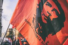 DSCF7264 (Alessandro Gaziano) Tags: alessandrogaziano foto fotografia manifestazione manifestazioni roma visioni colori colors gente people diritti italia italy corteo sindacato febbraio