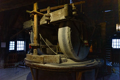 Inside the Pigment Windmill (Brett of Binnshire) Tags: historicalsite zaandam netherlands locationrecorded equipment architecture windmill gear industry museum zaanseschans northholland