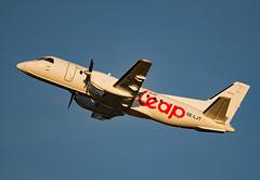 SE-LJT (Skidmarks_1) Tags: seljt airleap saab340 engm norway osl oslogardermoenairport aviation aircraft airport airliners