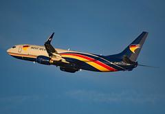 G-NPTC (Skidmarks_1) Tags: gnptc boeing737800 westatlantic cargo freighter engm norway osl oslogardermoenairport aviation aircraft airport airliners