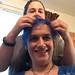 20180619 1847 - game night at Beth's - Beth braiding Clio's hair - 15471898